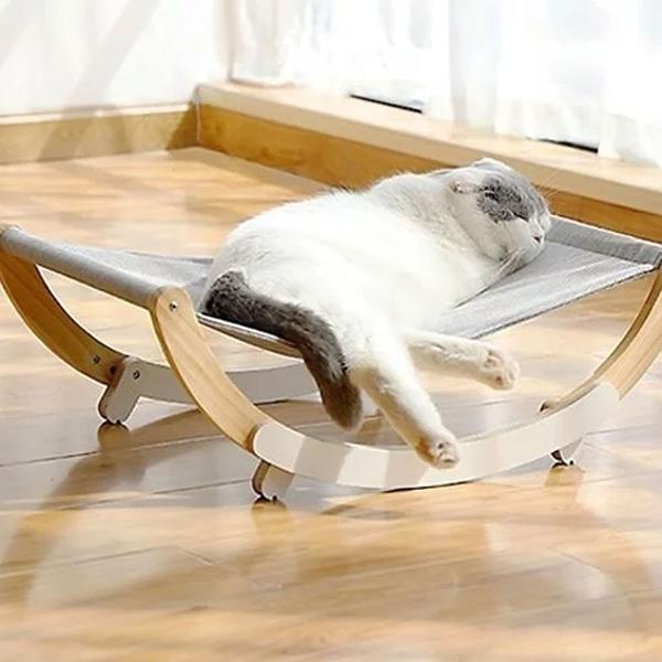寵物家族-FD.Cattery貓咪造型抓窩系列-多功能搖床
