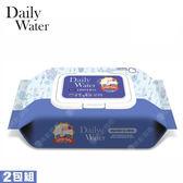 【韓國 DAILY WATER】拋棄式萬用紙抹布-地板加大款 (80入/2包組)