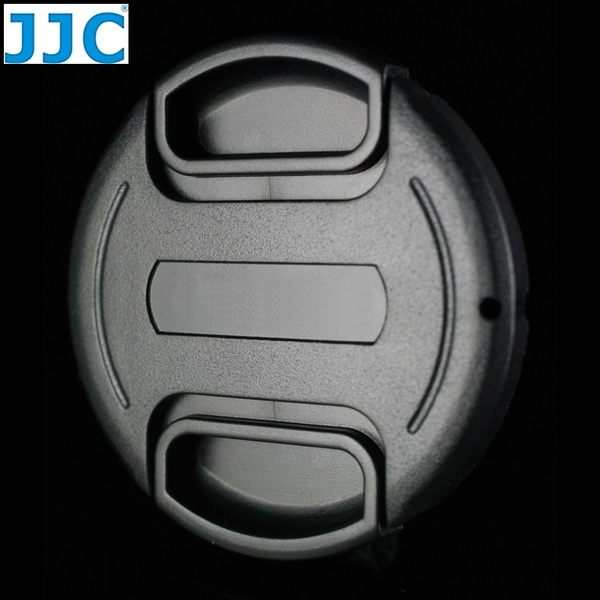 我愛買#JJC無字附繩B款58mm鏡頭蓋適Panasonic國際Lumix G X Vario 35-100mm F2.8 12-35mm F2.8 OIS ASPH鏡頭前蓋鏡蓋