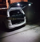 HONDA本田【FIT尾門照明感應燈】行李廂LED白光燈 安裝方便 免破線 雙面膠沾黏 fit後車箱