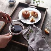 木質托盤 桐木收納盒歐式家用面包盤置物盤 長方形大號水杯茶盤 享購