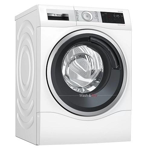 【贈底座】德國 BOSCH 博世 WDU28560TC 智慧高效洗脫烘洗衣機 (歐規10.1KG / 6公斤(乾衣)) 220V
