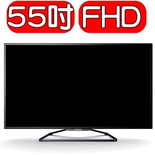 Philips飛利浦【55PFH5280】55吋IPS淨藍光液晶顯示器+視訊盒