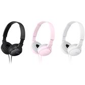【SONY】耳罩式立體聲耳機 MDR-ZX110AP (黑)