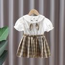 女童洋裝 女寶寶連身裙夏季小童兒童假兩件公主裙女童裙子夏2021年新款夏裝