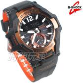 G-SHOCK GR-B100-1A4 飛行錶 藍牙連線 太陽能電力 男錶 電子錶 玫瑰金 GR-B100-1A4DR CASIO卡西歐