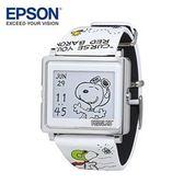 EPSON Peanuts Flying Ace 史努比-王牌飛行員手錶 日本精工設計 輕巧薄型外觀時尚