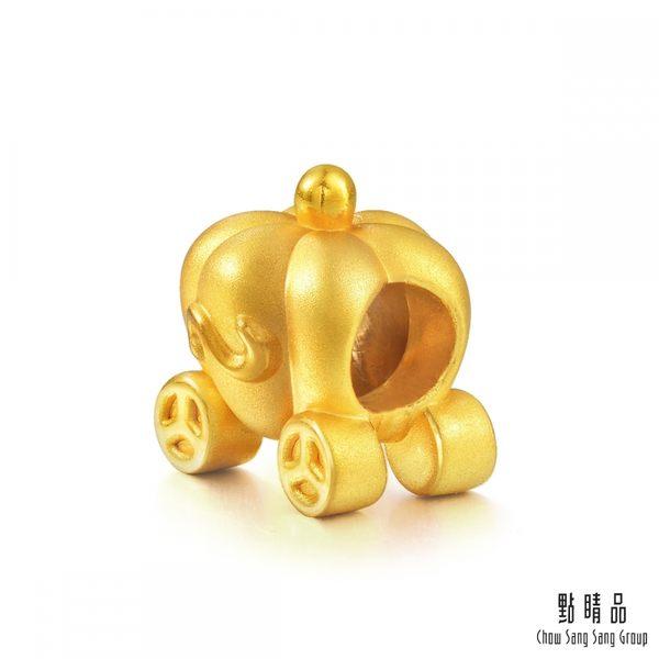 點睛品 Charme 南瓜車 黃金串珠