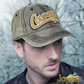 運動帽-全棉水洗復古品牌貼布繡遮陽鴨舌球帽J7488 JUNIPER
