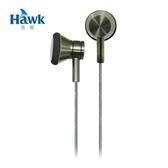 Hawk K211 金屬平耳式耳機麥克風 綠