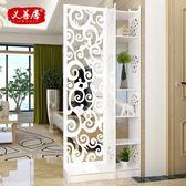 歐式客廳玄關櫃屏風隔斷簡約現代門廳櫃酒櫃間廳櫃置物儲物展示櫃 618降價