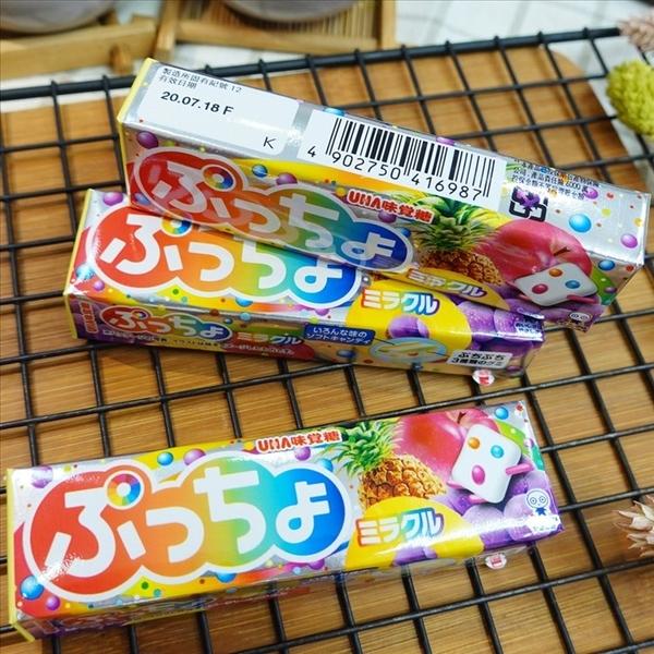 味覺噗啾綜合水果味條糖 50g【4902750416987】(日本糖果)