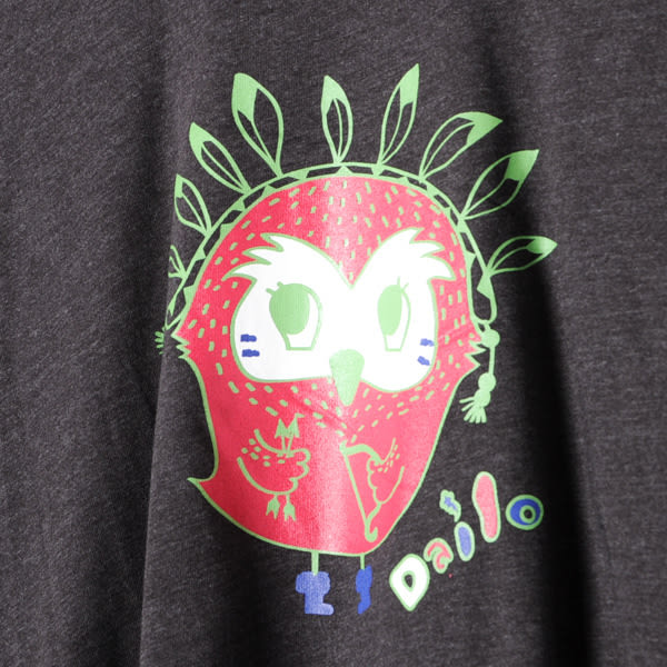 【Dailo】小鳥造型T恤-黑 10601