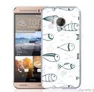 ✿ 3C膜露露 ✿【黑白魚*硬殼】HTC ONE ME手機殼 手機套 保護套 保護殼