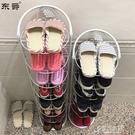 簡易鞋架家用鐵藝多層拖鞋架門口窄鞋櫃簡約小鞋架子省空間收納架【快速出貨】