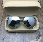 遮陽墨鏡情侶潮偏光太陽鏡潮人個性男士開車遮陽眼鏡多邊形墨鏡 小艾時尚
