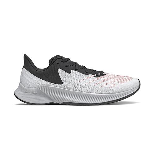 New Balance 男款2E寬楦白黑色運動慢跑鞋-NO.MFCPZSC