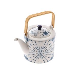 渲染藍韻茶壺800ml 蒲公英