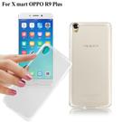 X_mart OPPO R9 Plus 薄型清柔隱形保護手機殼