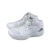 Asics 亞瑟士 DUNKSHOT MB 9 運動鞋 籃球鞋 童鞋 白色 大童 1064A006-105 no496