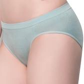 思薇爾-無痕美人系列M-XL素面低腰三角褲(蘊灰色)