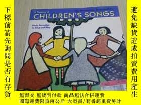 二手書博民逛書店A罕見Treasury of CHILDREN S SONGS【