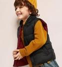 兒童馬甲 童裝男童兒童羽絨馬甲外穿小童冬裝棉服洋氣寶寶輕薄背心【快速出貨八折鉅惠】