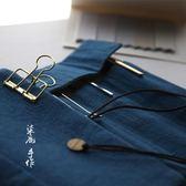 筆袋 日式文藝復古捲簾筆袋男 鋼筆筆簾捲筆袋女大學初中生文具袋筆盒 芭蕾朵朵