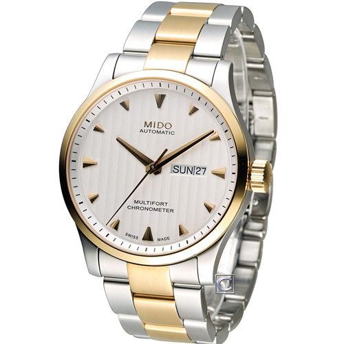 MIDO 美度 Multifort系列簡約時尚機械錶 M0054312203100