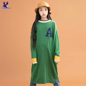 【三折特賣】American Bluedeer - 字母休閒針織洋裝(魅力價) 秋冬新款
