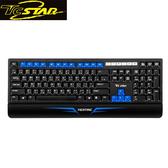 T.C.STAR 連鈺 TCK461BU 藍色有線鍵盤