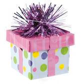 禮物盒氣球座-圓點