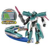 《 TOMICA 》DXS01 新幹線變形機器人 E5 隼號╭★ JOYBUS玩具百貨