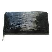 LOUIS VUITTON 路易威登 黑色水波紋Epi Electric長夾 Zippy Wallet M6007N BRAND OFF 【二手名牌BRAND OFF】