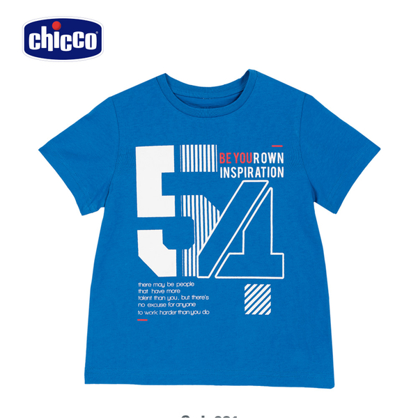 chicco-TO BE-數字54短袖上衣