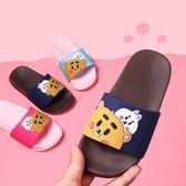 兒童拖鞋夏卡通男童室內軟底防滑浴室洗澡親子女童寶寶小孩涼拖鞋