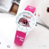 可愛兒童手錶女童女孩卡通小學生防水石英錶錶電子錶時尚韓版 ZJ1417 【Sweet家居】