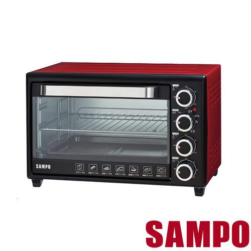 【聲寶SAMPO】 30L雙溫控油切旋風烤箱 KZ-SF30F