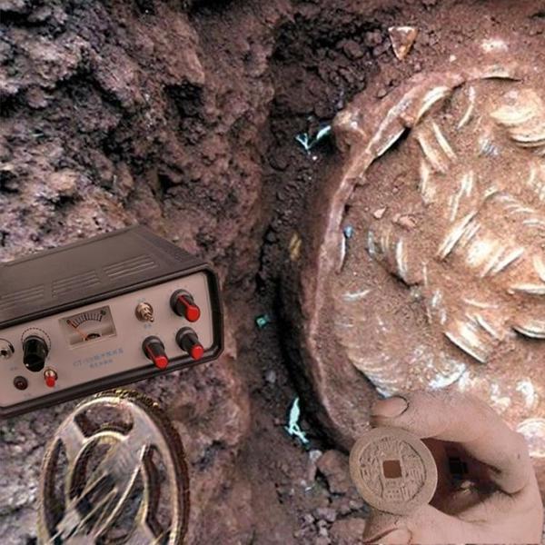 金屬探測器黃金銀銅高精度探測儀器深度考古戶外尋寶可視 1995生活雜貨NMS