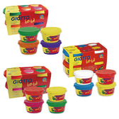 【加贈4件工具組】義大利 GIOTTO 寶寶超軟黏土-4合1 (3款可選)