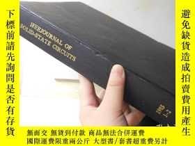 二手書博民逛書店IEEE罕見Journal of Solid State Cir