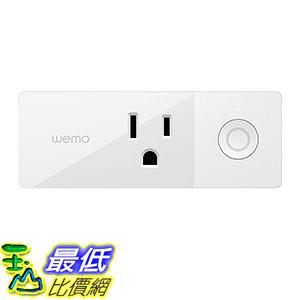 [美國直購] Wemo F7C063 充電插座 Mini Smart Plug, Wi-Fi Enabled, Works with Amazon Alexa