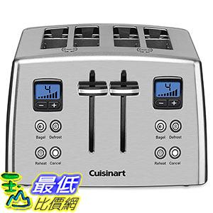 [美國直購] Cuisinart CPT-435C Toaster - 4-slice - Brushed - Countdown 烤麵包機