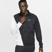 NIKE服飾系列-NSW SWOOSH JKT PK 男款黑白拼接休閒外套-NO.BV5288010