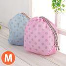 粉彩束口收納袋(M) 束口袋 防水 分類袋 收納袋 衣物分類 盥洗包 旅行收納袋《生活美學》