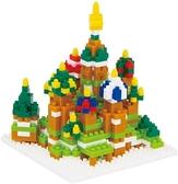 《 Nano Block 迷你積木 》【世界主題建築系列】NBH-051聖巴索大教堂 / JOYBUS玩具百貨