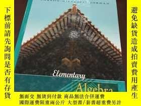 二手書博民逛書店Elementary罕見Algebra (second edit