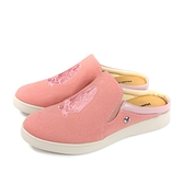 Hush Puppies 休閒帆布鞋 懶人鞋 前包後空 粉紅色 女鞋 6202W144147 no185