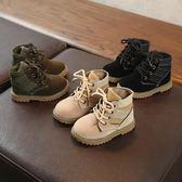 聖誕節 寶寶鞋1-3-5歲秋冬季男童鞋韓版馬丁靴兒童靴子男童短靴單靴棉靴 【小巨蛋之家】