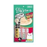 寵物家族-日本CIAO啾嚕肉泥-下部尿路(鮪魚)14g*4支入 SC-105